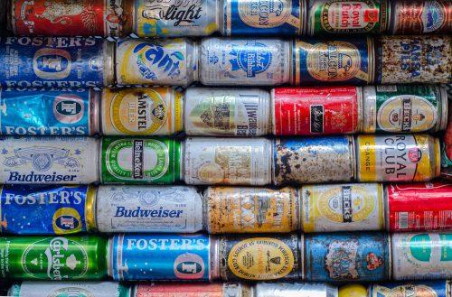 色々なアルミ缶